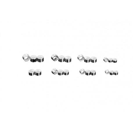 Ozdobné čepičky na šroub M8