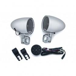 Chromované reproduktory RoadThunder® s bluetooth ovladačem MTX®